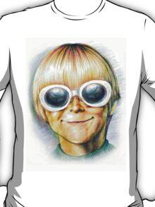 Teenage Spirit - Third grader Kurt Cobain/Nirvana illustration  T-Shirt