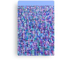 Urban Matrix Canvas Print