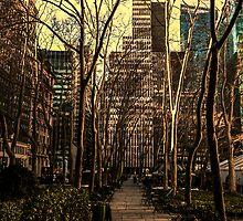 Bryant Park, New York City by ArtLandscape