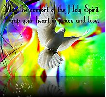 May the Holy Spirit Photographic Print