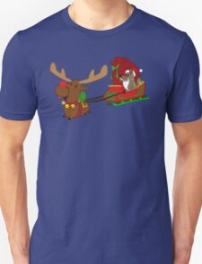 Moose and Trickster wish you a Happy Holidays! T-Shirt