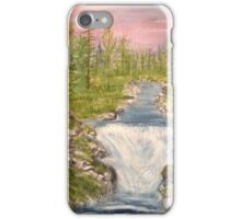 River with Falls iPhone Case/Skin