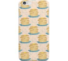 Happy Pancake Breakfast iPhone Case/Skin
