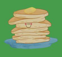 Happy Pancake Breakfast One Piece - Short Sleeve