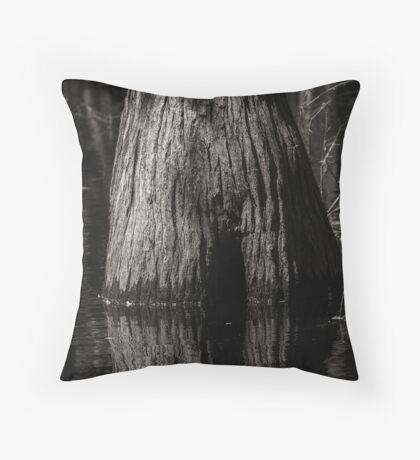 Cypress Trunk Throw Pillow