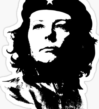 Julia Guevara Sticker