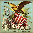 Vintage Cigar Advertising Golden Eagle TC WILLIAMS Virginia by sturgils
