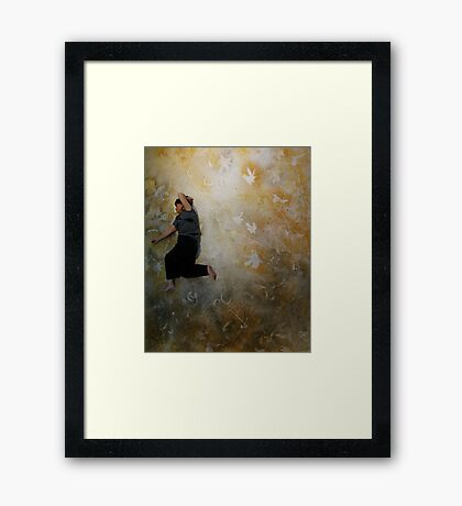 big enough to live in . . . . Framed Print