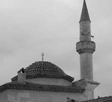 The tomb and minaret by rasim1