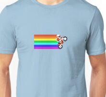 Rainbow Wheelie Unisex T-Shirt
