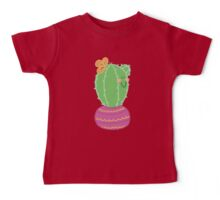 Happy Little Cactus Baby Tee