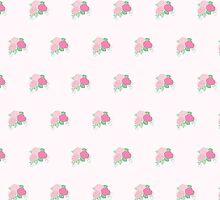 Elegant Spring Pink Rose Pattern by thejoyker1986