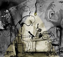 a day in the life of a poet by Loui  Jover