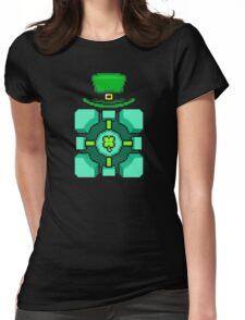 LEPRECHAUN CUBE Womens Fitted T-Shirt
