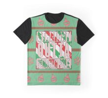 Straight Outta The North Pole Graphic T-Shirt
