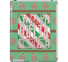 Straight Outta The North Pole iPad Case/Skin
