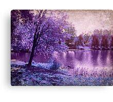 Lavender Landscape 1 - Franklin NJ, USA Canvas Print