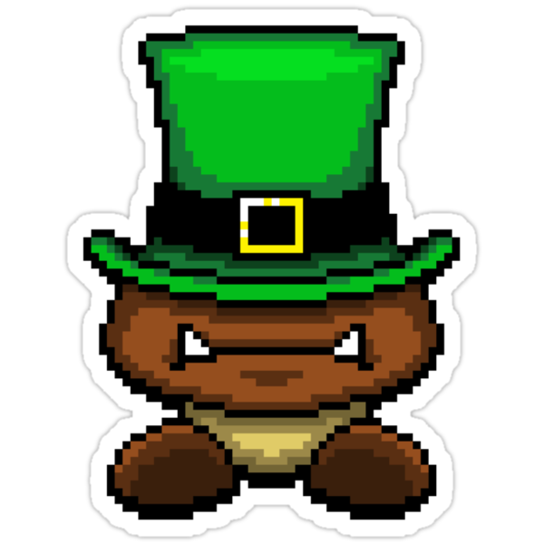 IRISH GOOMBA by DREWWISE