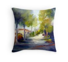 Driving along (Italy) Throw Pillow