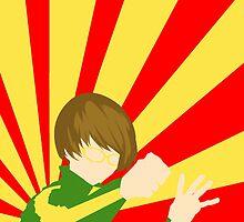 Persona 4 Chie Satonaka by defrain