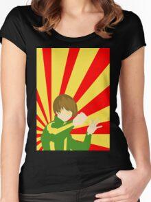 Persona 4 Chie Satonaka Women's Fitted Scoop T-Shirt