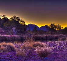 Mount Sonder Sunset by Dean Cunningham