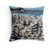 Pebble Beach California Throw Pillow