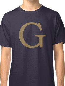 Weasley Sweater - G (All letters available!) Classic T-Shirt