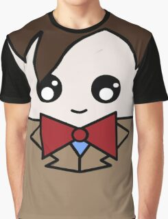 Dr Who 11th Doctor Squ'ed Graphic T-Shirt