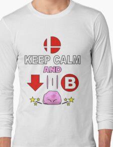 Kirby Stone : Smash Bros SSB4 Long Sleeve T-Shirt
