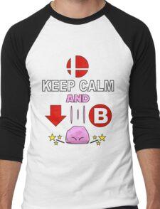 Kirby Stone : Smash Bros SSB4 Men's Baseball ¾ T-Shirt