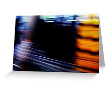 Fast Track To Town - 22 02 13 Greeting Card