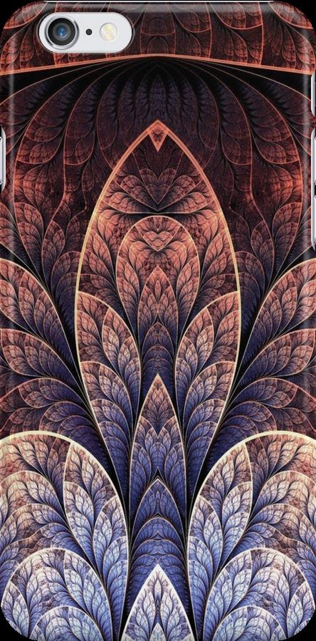 Flower Fractal Case by Ben Wilson