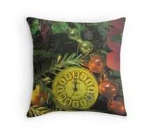 Postcard printed in the USSR Throw Pillow
