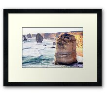 The Edge of Australia. Framed Print