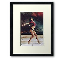 Urban Dancer Framed Print
