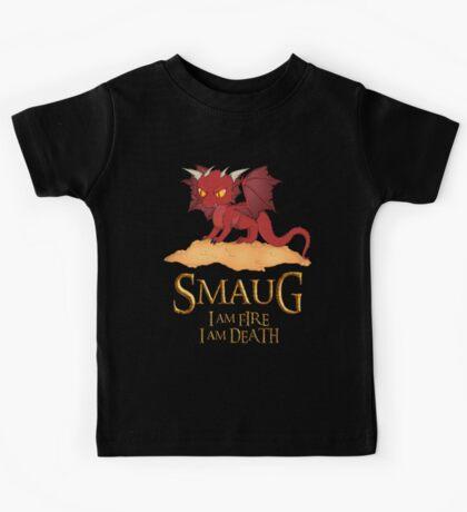 Smaug The Dragon Kids Tee