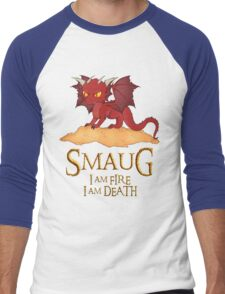 Smaug The Dragon Men's Baseball ¾ T-Shirt