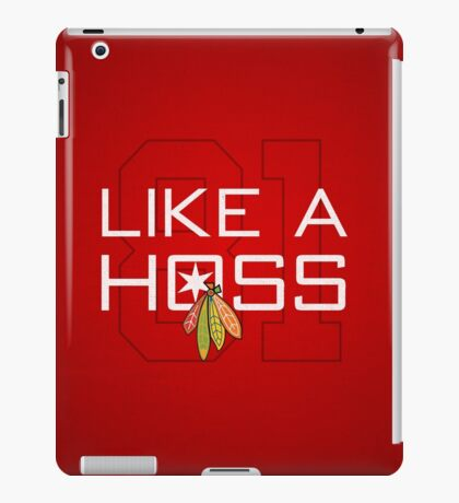 Like a Hoss iPad Case/Skin