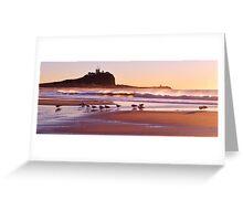 Sunrise at Nobbys Beach Greeting Card