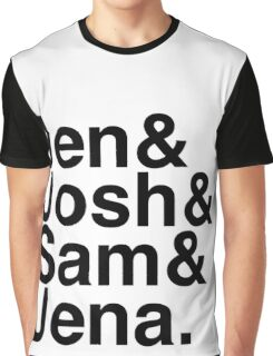 Jennifer & Josh & Sam & Jena. Graphic T-Shirt