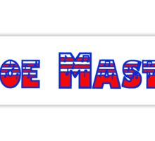 Oboe Master Red White & Blue Sticker