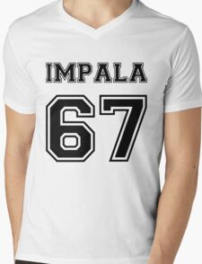Impala '67 Mens V-Neck T-Shirt