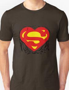 Superheart Funny iPad Case / iPhone 5 Case / T-Shirt  Unisex T-Shirt