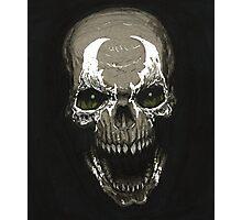 Spawn Skull Photographic Print
