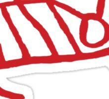 Caveman Shit - Moose Sticker