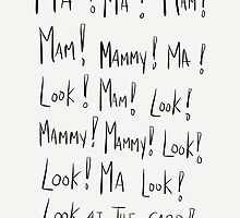 Ma mammy look by twisteddoodles