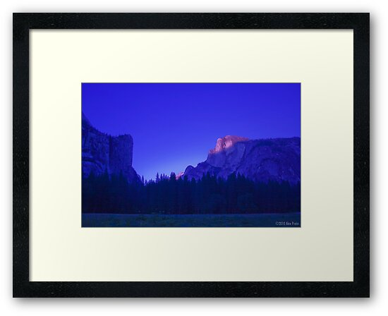 Half Dome At Sunset 2 by Alex Preiss