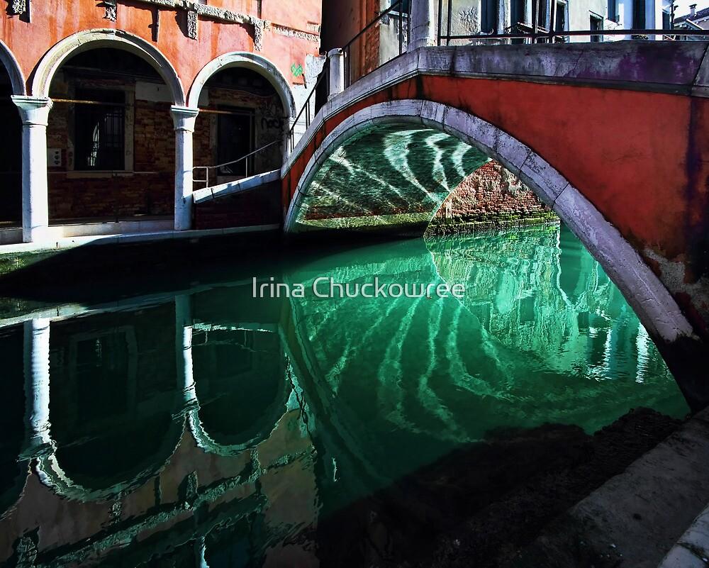 Taking Steps to Reflect by Irina Chuckowree