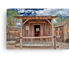 Silver Canyon Saloon Canvas Print